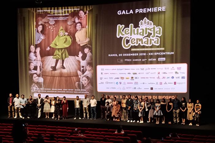 Malam Penuh Emosi di Gala Premiere Keluarga Cemara