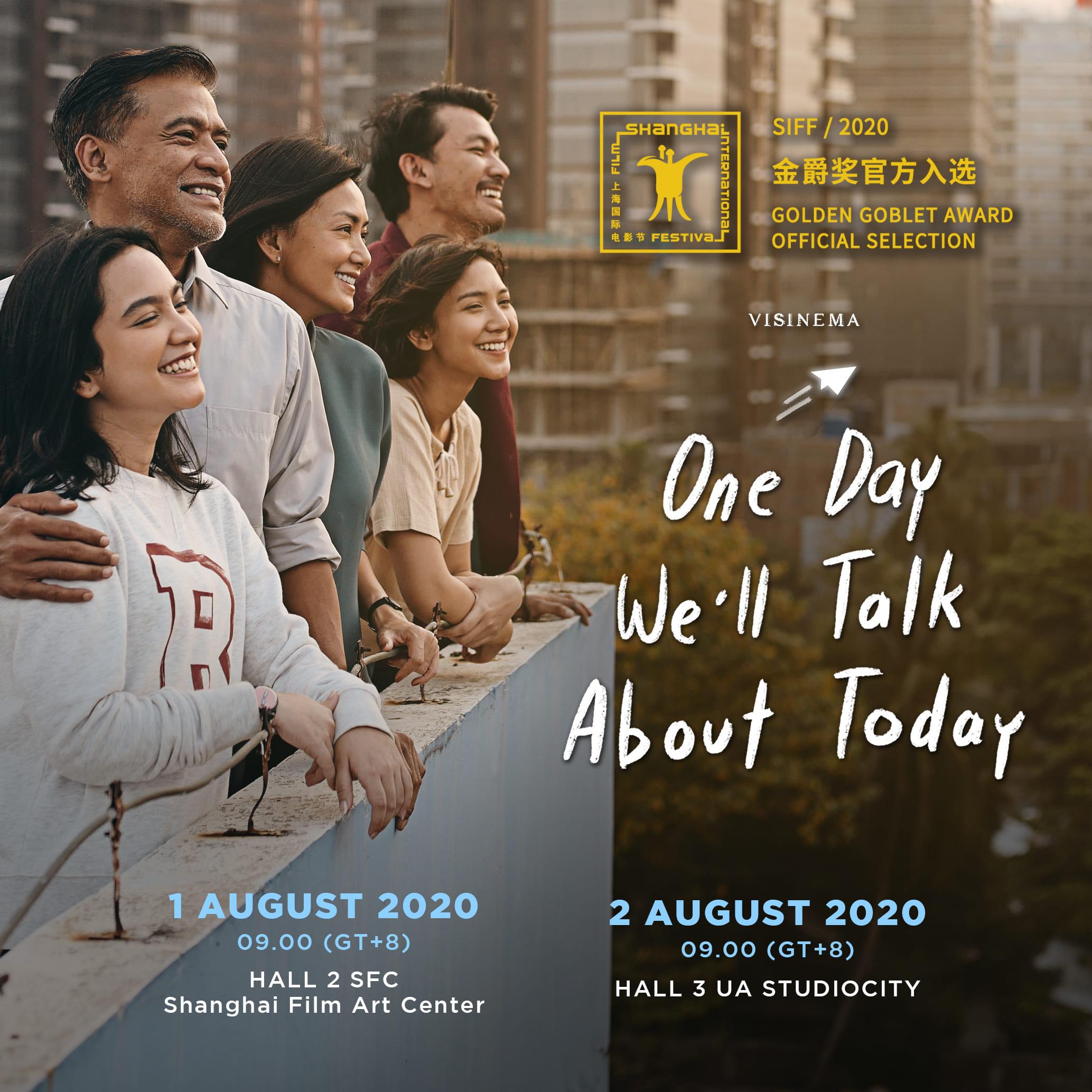 Film Indonesia Nanti Kita Cerita Tentang Hari Ini Tayang di Shanghai International Film Festival Ke-23