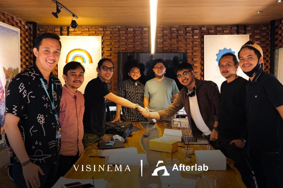 Visinema Berinvestasi di Afterlab Studio, Sebuah Studio Animasi dan Efek Visual di Bandung