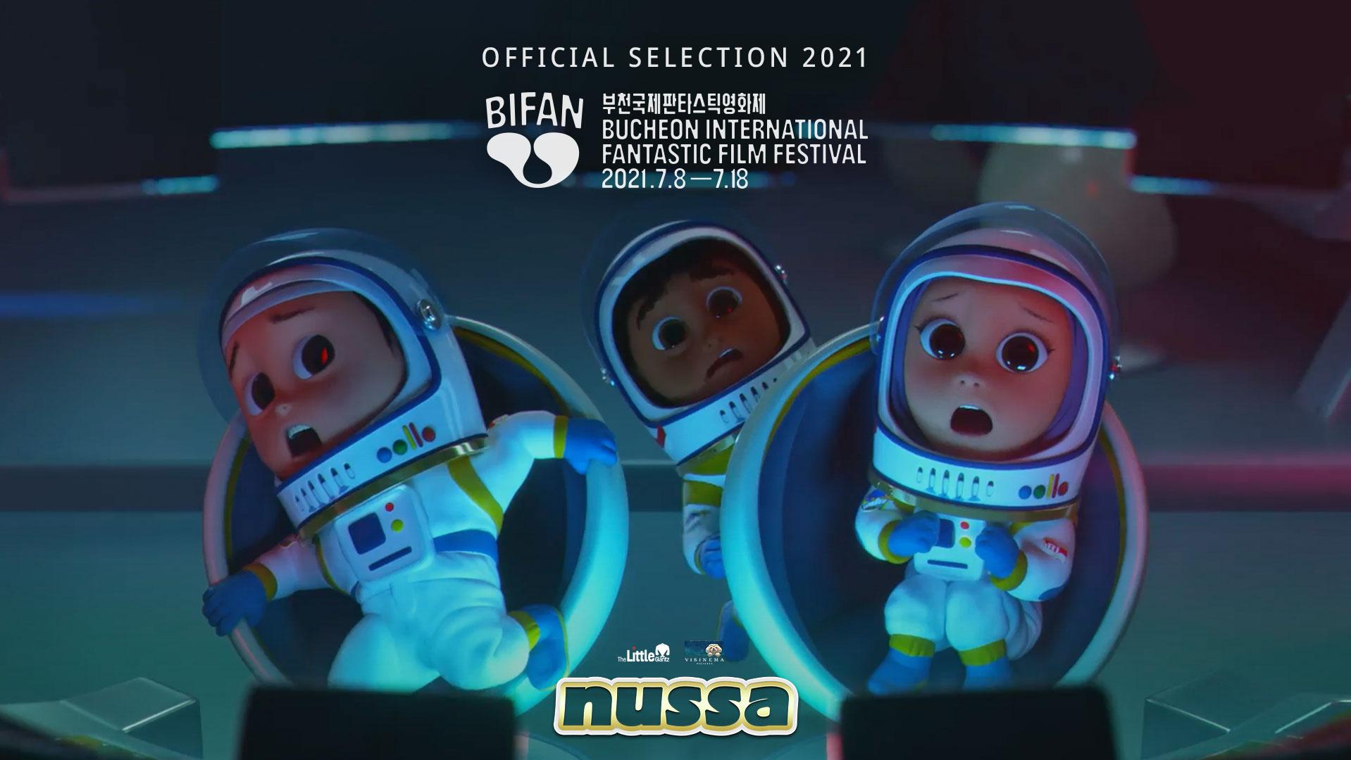 Film Nussa Garapan Visinema dan The Little Giantz World Premiere di Korea Selatan