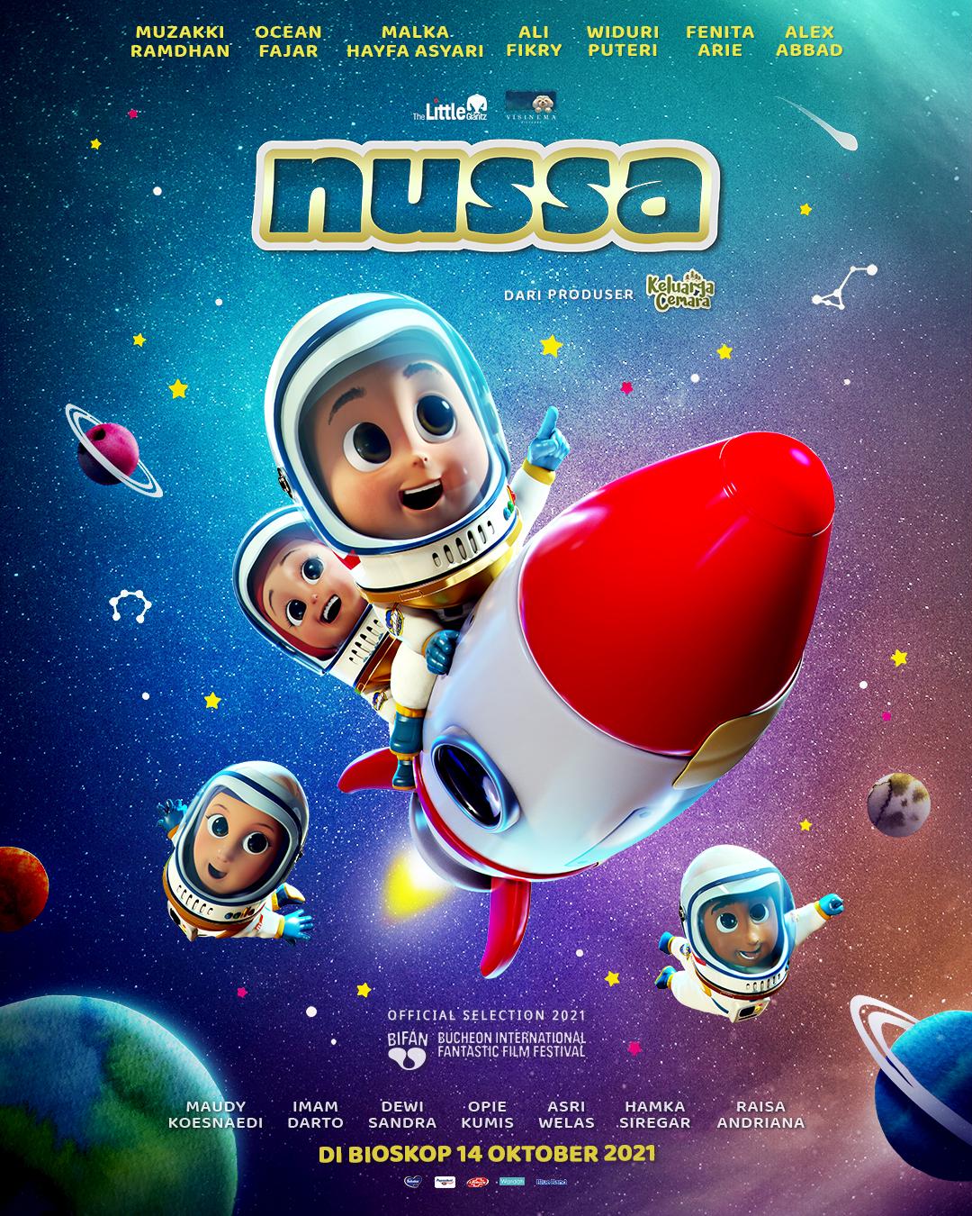Nussa Tayang di Bioskop 14 Oktober 2021